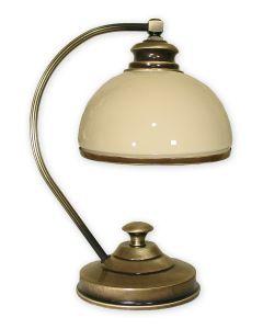 Olimp lampka stołowa 1 pł. / patyna