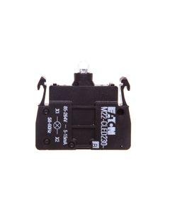Oprawka z LED niebieska 230V AC zacisk sprężynowy M22-CLED230-B 218063