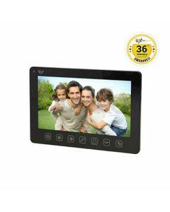 Wideo monitor OPT bezsłuchawkowy, kolorowy, LCD 7 do zestawu z serii EXEDRA i REX MEMO, czarny