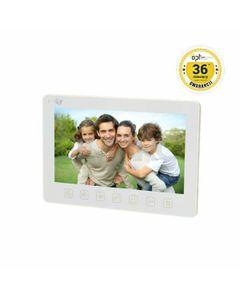 Wideo monitor OPT bezsłuchawkowy, kolorowy, LCD 7 do zestawu z serii EXEDRA i REX MEMO, biały