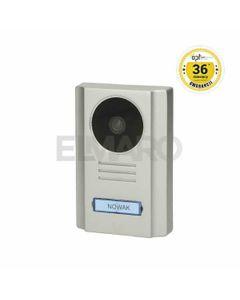 Wideo kaseta OPT z kamerą szerokokątną, kolor, wandaloodporna, diody LED, podświetlane miejsce na nazwisko, do zestawów EX