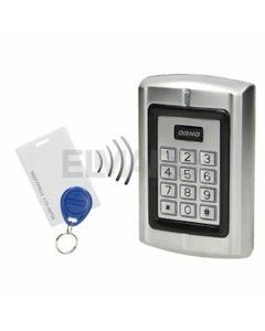 Zamek szyfrowy z czytnikiem kart i breloków zbliżeniowych, IP44