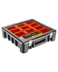 Organizer z kubełkami 40 x 40 x 12 cm 84-130