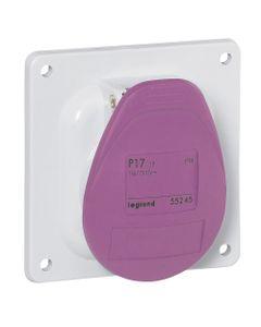 Gniazdo tablicowe 2P 16A 24V fioletowe IP44 P17 055245