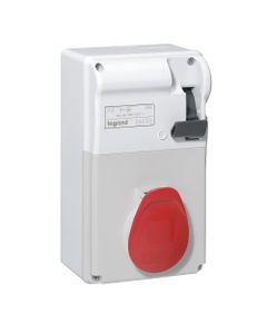Zestaw zasilający hermetyczny z rozłącznikiem 16A 3P+Z 400V IP44 P17 056605