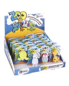 Brelok LED zwierzątka zoo