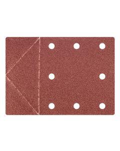 Papier ścierny 115 x 160 mm otwory, perforacja do odrywania rzep K100 55H818 /3szt./