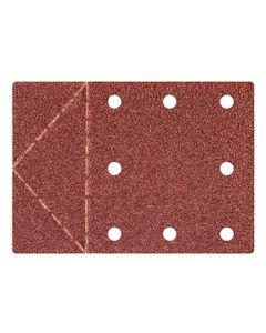 Papier ścierny 115 x 160 mm otwory, perforacja do odrywania rzep K40 55H812 /3szt./