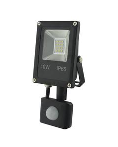 Naswietlacz LED z czujnikiem ruchu RALF 10W Czarny INQ