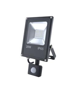 Naswietlacz LED z czujnikiem ruchu RALF 20W Czarny INQ