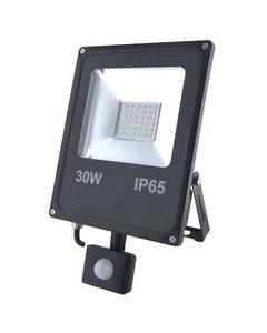 Naswietlacz LED z czujnikiem ruchu RALF 30W Czarny INQ