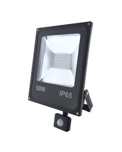 Naswietlacz LED z czujnikiem ruchu RALF 50W Czarny INQ