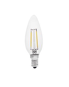Lampa z diodami LED ZIPI FILLED 2W E14-WW