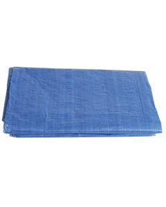 Plandeka 4 x 6 m gradacja 80 g/m2 niebieska 79R356