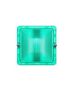 PLEXO55 Klosz do żarówek zielony 069589