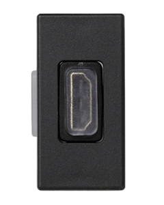 Simon Connect Gniazdo K45/2 HDMI szary grafit K129B/14