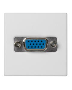 Simon Connect Gniazdo K45 video VGA /D-Sub 15/ czysta biel K100B/9