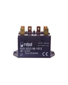 Przekaźnik przemysłowy 2Z 25A 250V AC 12V DC IP50 AgSnO2 R20-3022-96-1012 2611751