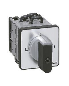 Przełącznik amperomierza 0-L1-L2-L3 do wbudowania PR12 014650
