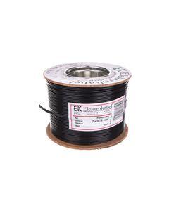 Przewód głośnikowy SMYp 2x0,75 czarno/czerwony 50V /100m/