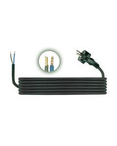 Przewód przyłączeniowy H05RR F 2x1 1,5m zalewaną wtyczką D.3500