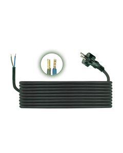Przewód przyłączeniowy H05RR F 2x1 3m zalewaną wtyczką D.3501