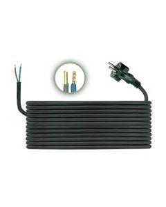 Przewód przyłączeniowy H05RR F 2x1 5m zalewaną wtyczką D.3502