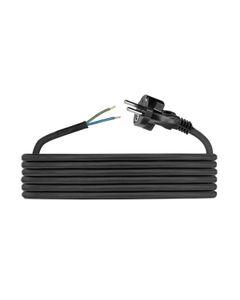 Przewód przyłączeniowy H05RR F 2x1,5 1,5m zalewaną wtyczką D.3509