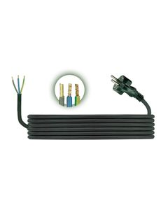 Przewód przyłączeniowy H05RR F 3x1 1,5m zalewaną wtyczką D.3503