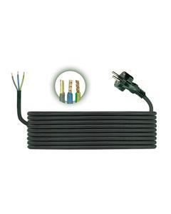 Przewód przyłączeniowy H05RR F 3x1 3m zalewaną wtyczką D.3504