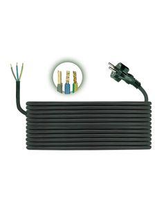 Przewód przyłączeniowy H05RR F 3x1,5 5m zalewaną wtyczką D.3508