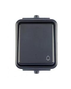 Przycisk dzwonek czarny CEDAR IP44 SCHNEIDER