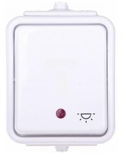 Przycisk swiatlo z podswietleniem CEDAR IP44 SCHNEIDER