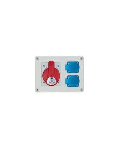 Rozdzielnica stacjonarna R-BOX 190 1x32A/5P 2x250V IP44 B.1603