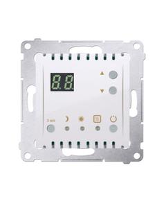 Simon 54 Termostat cyfrowy z wewnętrznym czujnikiem temperatury (moduł) pierścień biały DTRNW.01/11...