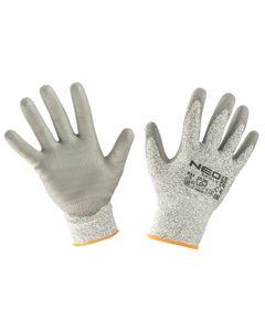 Rękawice antyprzecięciowe pokryte PU 4X43D rozmiar 8 97-609-8
