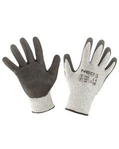 Rękawice antyprzecięciowe pokryte nitrylem 4X43D rozmiar 8 97-610-8