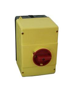 Obudowa wyłącznika silnikowego MPX3 32H/MA napęd żółto-czerwony IP65 417480