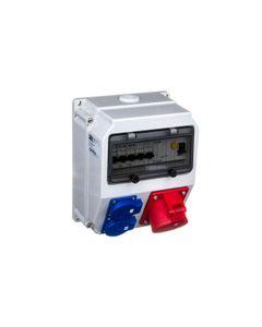 Rozdzielnica stacjonarna LUBLIN 32A/5PxB32 2xGSx2xB16 FI40/4/0,03 IP44 9035311W