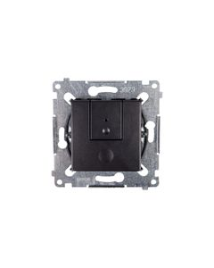 Simon 54 Ściemniacz przyciskowy 40-300W antracyt D75310.01/48