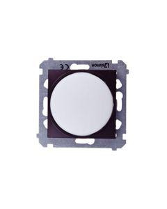 Simon 54 Sygnalizator świetlny LED białe światło brąz mat DSS1.01/46