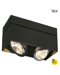 Lampa sufitowa KARDAMOD 2x50W Czarny SPOTLINE