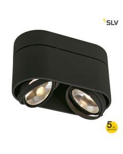Lampa sufitowa KARDAMOD 2x75W Czarny SPOTLINE