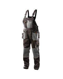 Spodnie robocze na szelkach rozmiar L/52 81-240-L