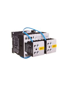 Stycznik nawrotny 9A 4kW AC-3 24V DC 2Z 0R DIULM9/21(24VDC) 107022