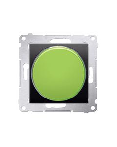 Simon 54 Sygnalizator świetlny LED zielone światło antracyt DSS3.01/48