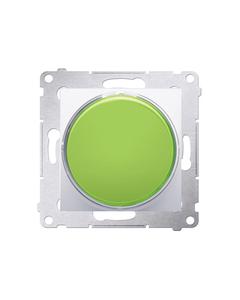 Simon 54 Sygnalizator świetlny LED zielone światło biały DSS3.01/11