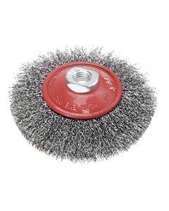 Szczotka druciana tarczowa odgięta 115 mm x M14 62H121