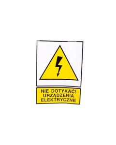 Tabliczka /znak ostrzegawczy/ TZO 210X297S N.D.U.E. E04TZ-01011150100 /10szt./