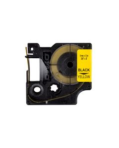 Taśma/rurka termokurczliwa do drukarek 9mm x 1,5m żółta S0718290 18054